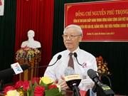 Líder partidista exhorta a Quang Tri a movilizar todos los recursos para el desarrollo