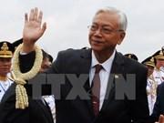 Presidente de Myanmar inicia visita a China
