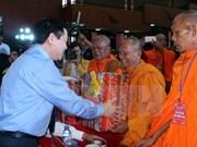 Felicitan en Vietnam a los khmeres por su fiesta de Año Nuevo