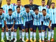 Selección argentina de fútbol sub-20 jugará en Vietnam
