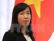 Vietnam soluciona disputas en el Mar del Este por vías pacíficas, afirma portavoz de la Cancillería