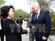 Presidenta del Parlamento vietnamita resalta nexos con Hungría