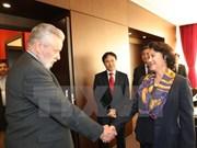 Presidenta del Parlamento de Vietnam confía en la durabilidad de los nexos con Hungría