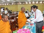 Provincia vietnamita sigue ofreciendo apoyo a comunidad khmer