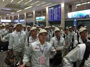 Ofrecen oportunidades laborales a trabajadores vietnamitas que retornaron de  Sudcorea