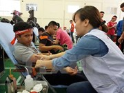 Campaña Recorrido Rojo 2017 prevé colectar 35 mil unidades de sangre en Vietnam