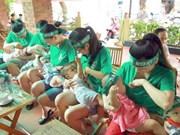 Primer banco de leche materna de Vietnam reporta éxito inicial