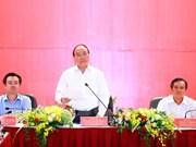 Premier exhorta a Kien Giang a centrarse en desarrollo de zona administrativa y económica