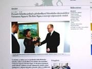 Prensa checa acapara visita de presidenta parlamentaria de Vietnam