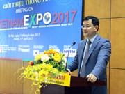 Feria de comercio internacional Vietnam Expo 2017 se efectuará del 19 al 22 de abril