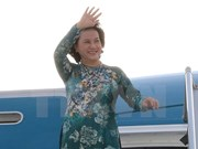 La presidenta del Parlamento de Vietnam concluye visita a República Checa