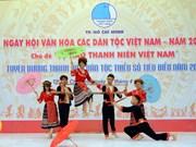 En Ciudad Ho Chi Minh Día cultural de etnias vietnamitas