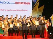 Honran productos cibernéticos ganadores del premio Sao Khue 2017