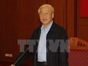 Secretario general del PCV exhorta a mayor coordinación en lucha anticorrupción