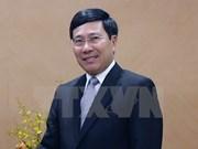 Vicepremier de Vietnam visita Embajada en China