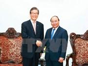 Premier de Vietnam recibe a ejecutivo del banco sudcoreano KDB
