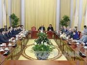 Vietnam da bienvenida a empresas iraníes, dice presidente
