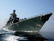 Dos buques de Armada rusa visitan Filipinas