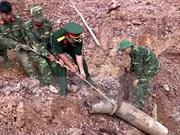 Detectan una bomba de 240 kilogramos en provincia centrovietnamita