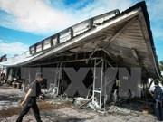 Región sureña de Tailandia sufre serie de atentados
