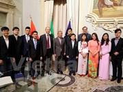 Dispuesta universidad italiana a conceder más becas a estudiantes vietnamitas