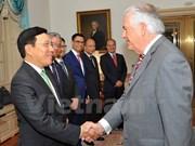 Vietnam patentizó esfuerzos para intensificar asociación integral con EE.UU.