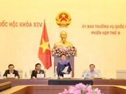 Comité Permanente del Parlamento vietnamita concluye su novena reunión