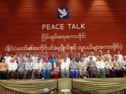 Efectúan diálogo político en Myanmar