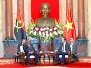 Presidente de Vietnam destaca potencialidad de cooperación con Angola