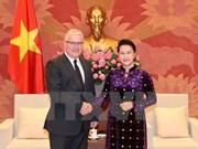 Líder parlamentaria de Vietnam confía en desarrollo vigoroso de nexos con Australia
