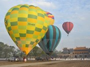 Inauguran en Hue Festival Internacional de Aerostato