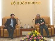 Viceministro vietnamita de Defensa recibe al embajador chino