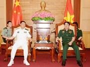Las Armadas de Vietnam y China intensifican nexos