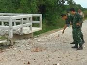 Policías tailandesas heridas por explosión de bomba en la frontera con Malasia