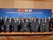 ASEAN y sus socios acuerdan impulsar cooperación financiera y comercial