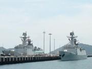 Flotilla de la Armada de China visita puerto marítimo de Ho Chi Minh
