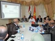 Buscan oportunidades de cooperación entre Vietnam y Egipto