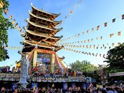 Celebran ceremonia en Ciudad Ho Chi Minh por natalicio de Buda