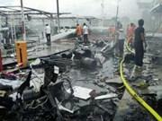 El ejército tailandés busca a sospechosos de doble atentado con bomba en Pattani