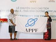 Vietnam asume cargo de presidente del APPF del mandato 2017- 2018