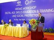 Altos funcionarios de APEC por impulsar formación vocacional y bienestar social