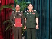 Obtienen generales camboyanos títulos de doctorado en Vietnam