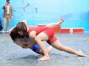 Luchadora vietnamita gana medalla de bronce en campeonato asiático