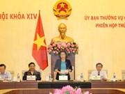 Inauguran décima sesión del Comité Permanente del Parlamento vietnamita