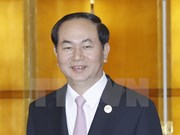 Presidente de Vietnam se reúne en China con líderes de diversos países