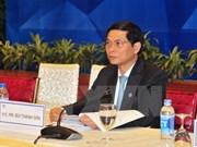 Iniciativas de Vietnam reciben respaldo de otros miembros de APEC, afirma vicecanciller