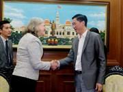 Ciudad Ho Chi Minh y EE.UU. fortalecen cooperación para desarrollo de urbe inteligente