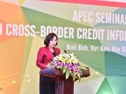 APEC destaca importancia de intercambio de informaciones sobre crédito transfronterizo