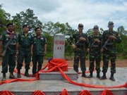 Vietnam y Camboya erigen nuevos hitos fronterizos
