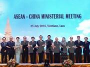 Altos funcionarios de ASEAN y China debaten sobre DOC